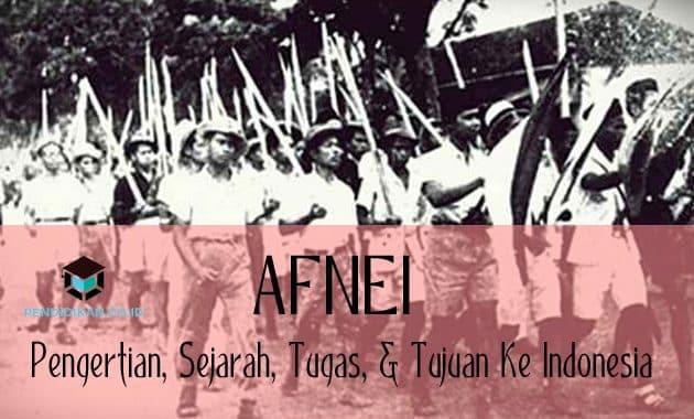 AFNEI : Pengertian, Sejarah, Tugas, & Tujuan Ke Indonesia