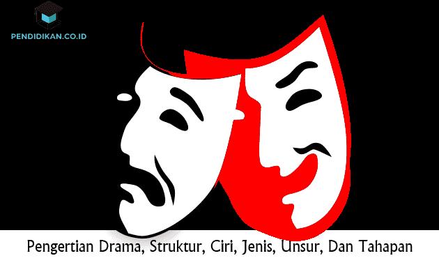 Pengertian Drama, Struktur, Ciri, Jenis, Unsur, Dan Tahapan