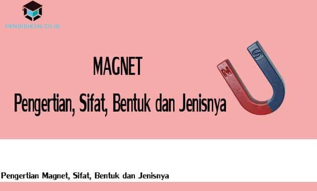 Pengertian Magnet, Sifat, Bentuk dan Jenisnya
