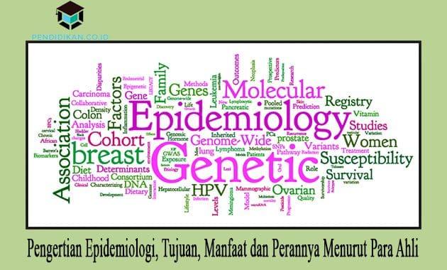Pengertian Epidemiologi, Tujuan, Manfaat dan Perannya Menurut Para Ahli