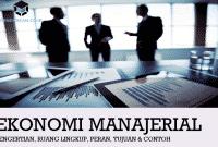 Pengertian Ekonomi Manajerial, Ruang Lingkup, Peran, Tujuan & Contoh