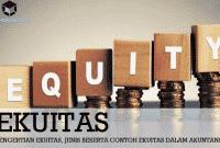 Pengertian Ekuitas, Jenis Beserta Contoh Ekuitas Dalam Akuntansi