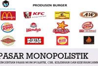 Pengertian Pasar Monopolistik, Ciri, Kelebihan dan Kekurangannya