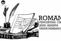 Pengertian Roman, Ciri, Jenis, Beserta Unsur Pembangunnya
