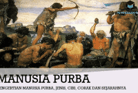 Pengertian Manusia Purba, Jenis, Ciri, Corak dan Sejarahnya