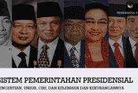 Pengertian Sistem Pemerintahan Presidensial, Unsur, Ciri, dan Kelebihannya