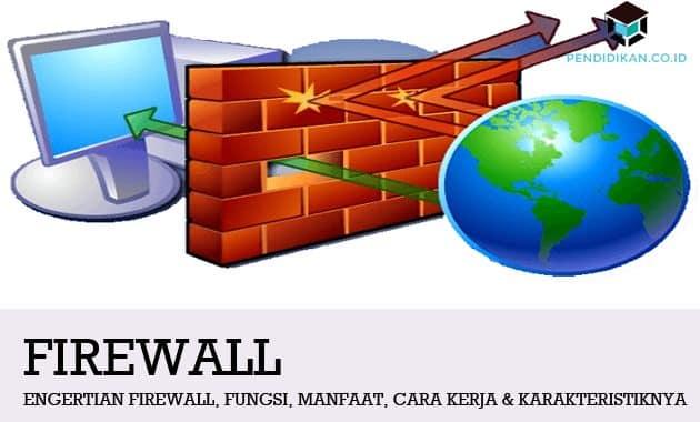 Pengertian Firewall, Fungsi, Manfaat, Cara Kerja & Karakteristiknya