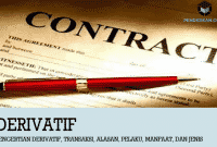 Pengertian Derivatif, Transaksi, Alasan, Pelaku, Manfaat, dan Jenis