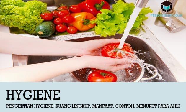 Pengertian Hygiene, Ruang Lingkup, Manfaat, Contoh, Menurut Para Ahli
