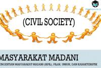 Pengertian Masyarakat Madani (Sipil), Pilar, Unsur, dan Karakteristik