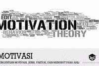 Pengertian Motivasi, Jenis, Faktor, dan Menurut Para Ahli
