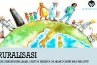 Pengertian Ruralisasi, Faktor Beserta Dampak Positif dan Negatif