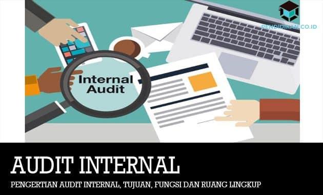 Pengertian Audit Internal, Tujuan, Fungsi dan Ruang Lingkup
