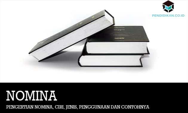 Pengertian Nomina, Ciri, Jenis, Penggunaan dan Contohnya