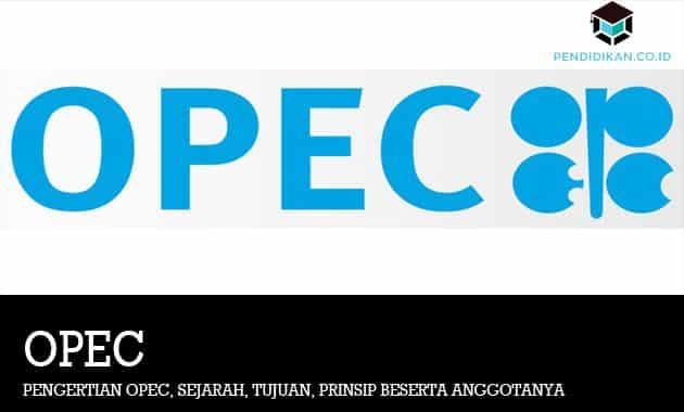 Pengertian OPEC, Sejarah, Tujuan, Prinsip Beserta Anggotanya