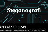 Pengertian Steganografi, Sejarah, Prisip, Kriteria, Aspek dan Teknik