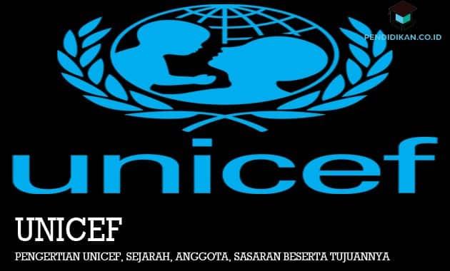 Pengertian UNICEF, Sejarah, Anggota, Sasaran Beserta Tujuannya