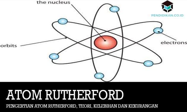 Pengertian Atom Rutherford, Teori, Kelebihan dan Kekurangan