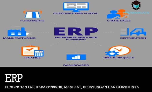Pengertian ERP, Karakteristik, Manfaat, Keuntungan dan Contohnya