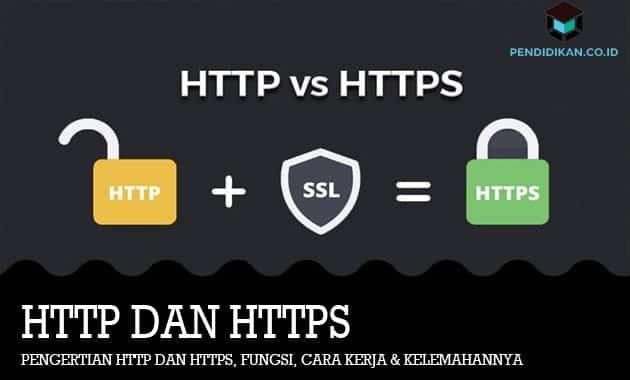 Pengertian HTTP dan HTTPS, Fungsi, Cara Kerja & Kelemahannya