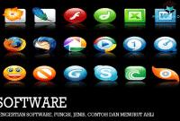Pengertian Software, Fungsi, Jenis, Contoh dan Menurut Ahli