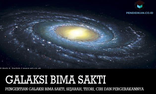 Pengertian Galaksi Bima Sakti, Sejarah, Teori, Ciri dan Pergerakannya