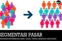 Pengertian Segmentasi Pasar, Dasar, Tujuan, Manfaat dan Syarat