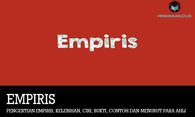 pengertian-empiris