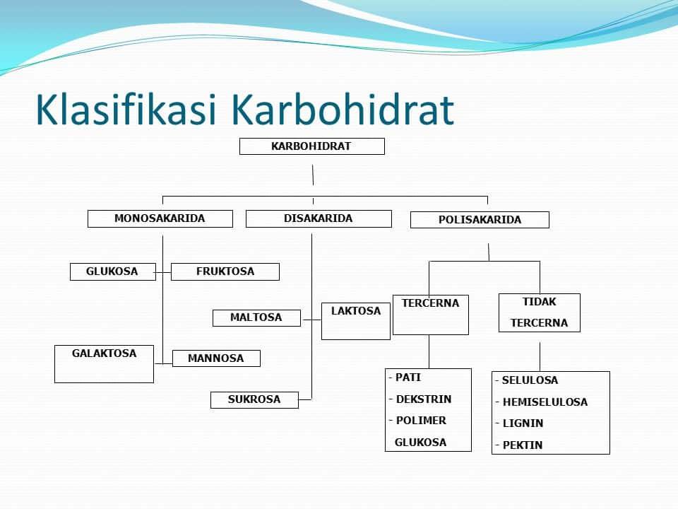 Klasifikasi-Karbohidrat