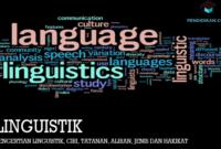 Pengertian-Linguistik