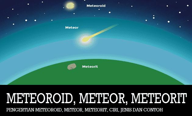 Pengertian-Meteoroid-Meteor-Meteorit