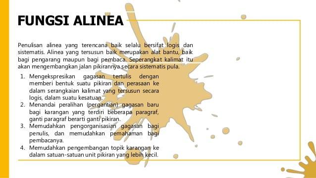 Fungsi-Alinea