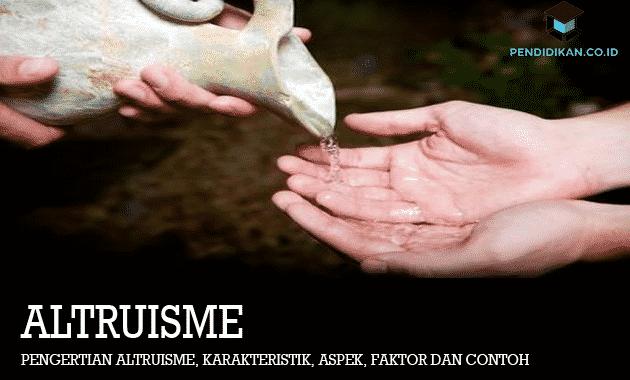 Pengertian Altruisme