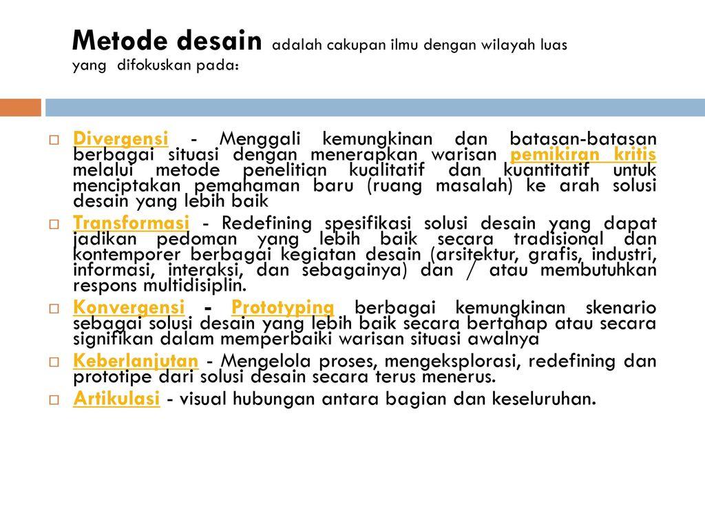 Metode-Desain